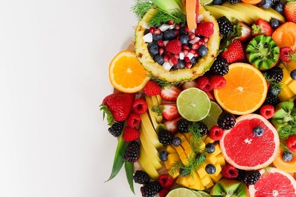 Weight loss fruits in a basket