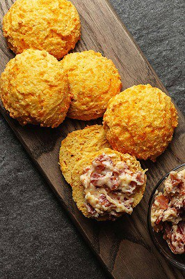 2 net carb ketogenic biscuits
