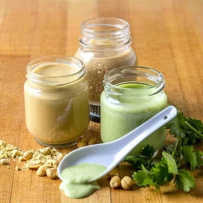keto salad dressings made from cilantro and jalapenos