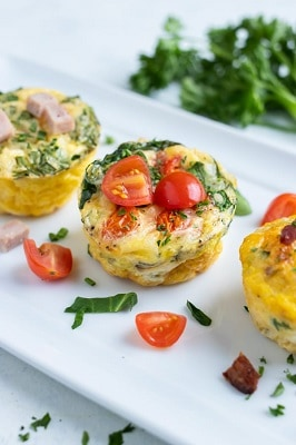 Evening Table keto egg muffins