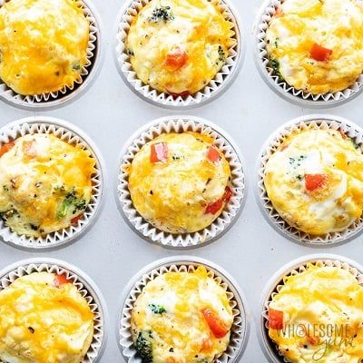 Low carb quick muffin cups